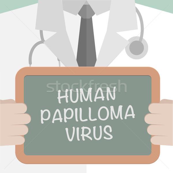 Medical Board Papilloma Virus Stock photo © unkreatives