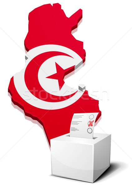 ballotbox Tunesia Stock photo © unkreatives