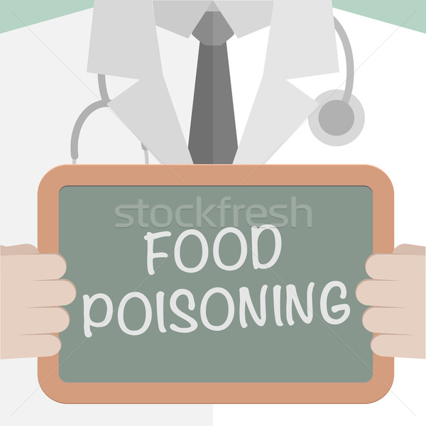 Food Poisoning Stock photo © unkreatives