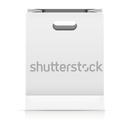 Paperbag Packaging Template Stock photo © unkreatives