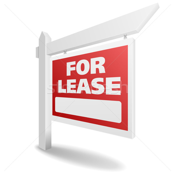 Real Estate For Lease Stock photo © unkreatives