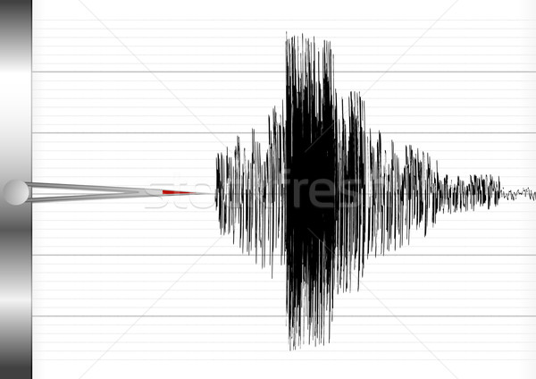 seismograph Stock photo © unkreatives