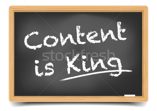 Content is King Stock photo © unkreatives