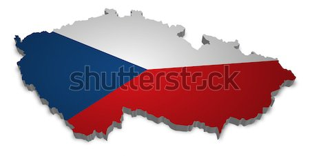 Czech Republic Stock photo © unkreatives