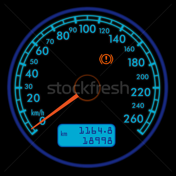 speedometer Stock photo © unkreatives