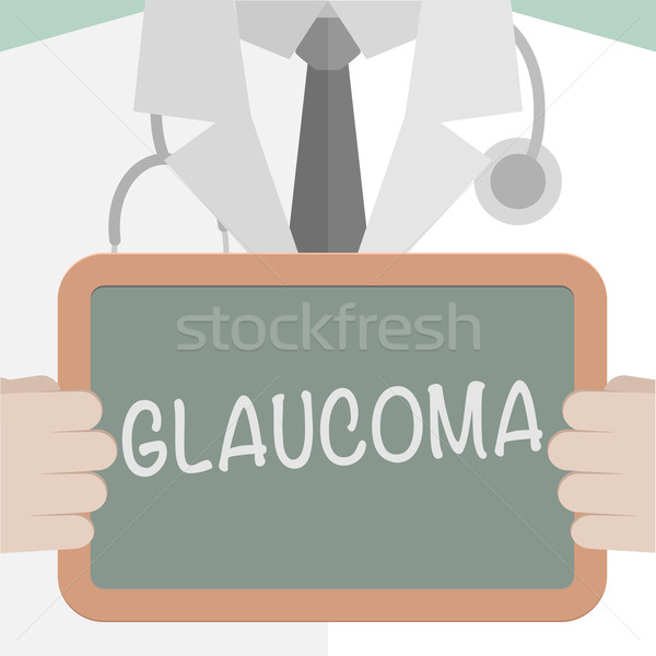 Medical Board Glaucoma Stock photo © unkreatives