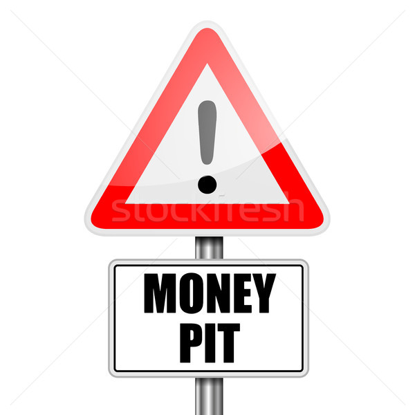 Attention Money Pit Stock photo © unkreatives
