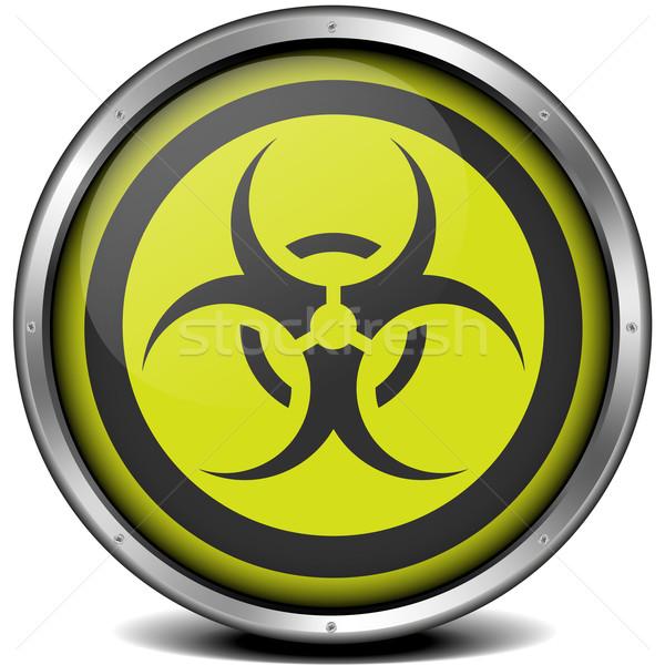 Biohazard Icon Stock photo © unkreatives