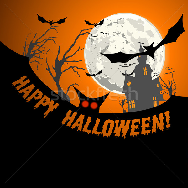 hallowen invitation background Stock photo © unkreatives
