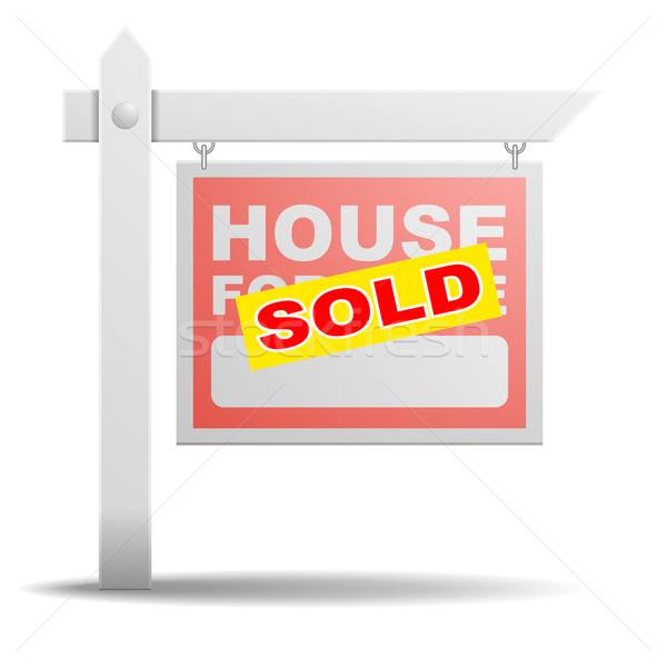 Sign House for Sale Stock photo © unkreatives