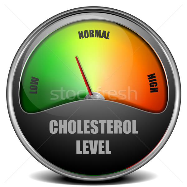 Cholesterol illustratie eps 10 vector Stockfoto © unkreatives
