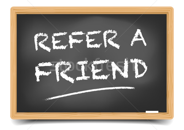 Refer a Friend Stock photo © unkreatives