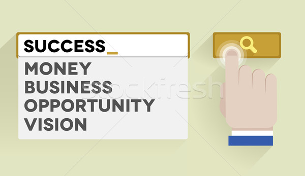 search success Stock photo © unkreatives