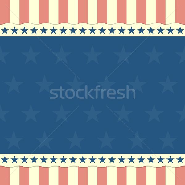 patriotic background Stock photo © unkreatives
