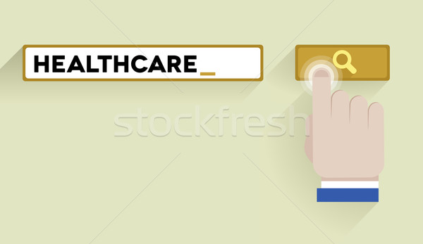 search healthcare Stock photo © unkreatives