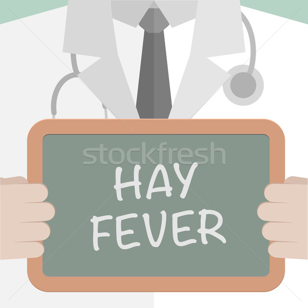Hay Fever Stock photo © unkreatives