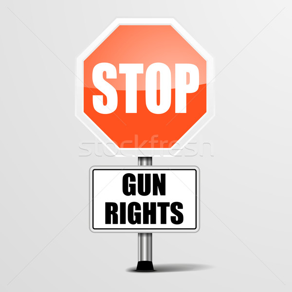 Stop Gun Rights Stock photo © unkreatives