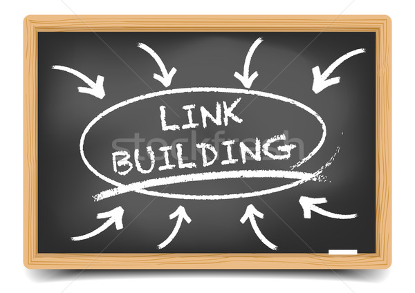 Link Building Focus Stock photo © unkreatives