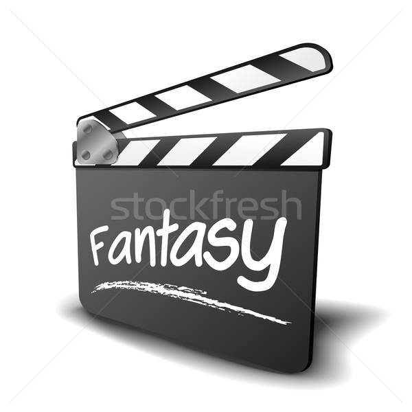 clapper board fantasy Stock photo © unkreatives