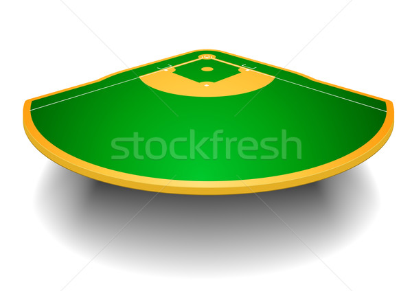 baseball field with perspective Stock photo © unkreatives