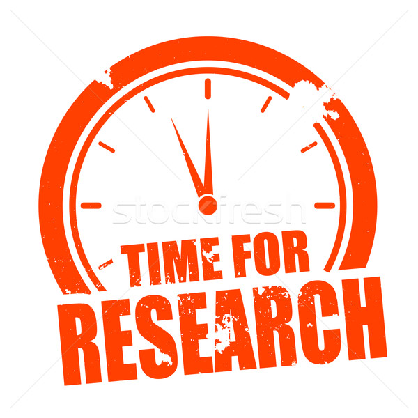 Time for Research Stock photo © unkreatives