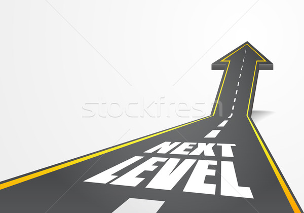 road to Next Level Stock photo © unkreatives