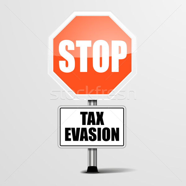 Stop Tax Evasion Stock photo © unkreatives