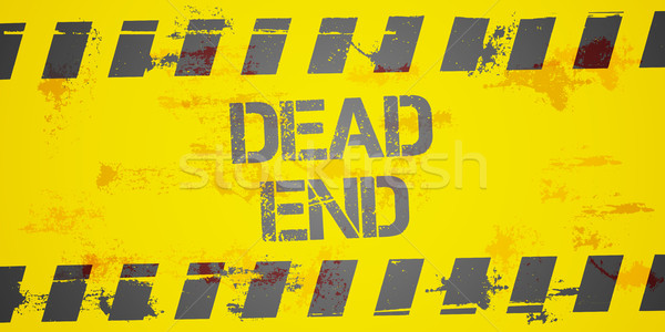 Dead End Background Stock photo © unkreatives