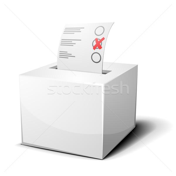 ballot box Stock photo © unkreatives