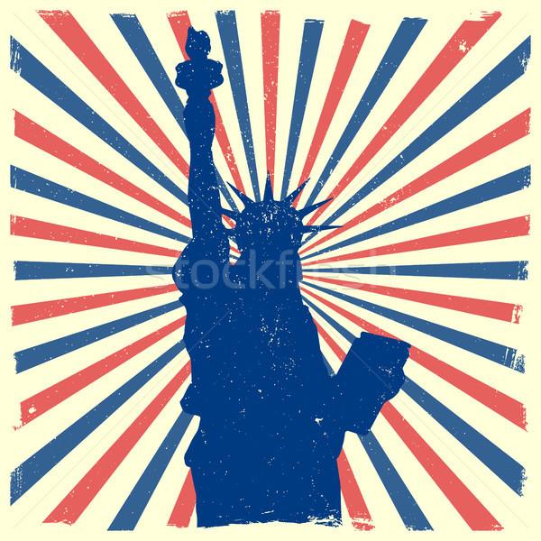 Foto stock: Liberdade · sujo · detalhado · ilustração · estátua