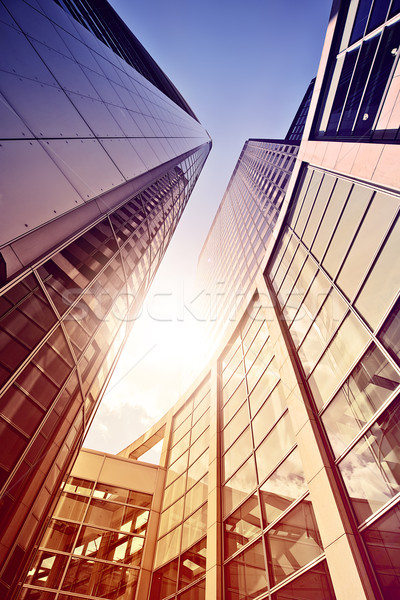 glass and steel office complex Stock photo © unkreatives