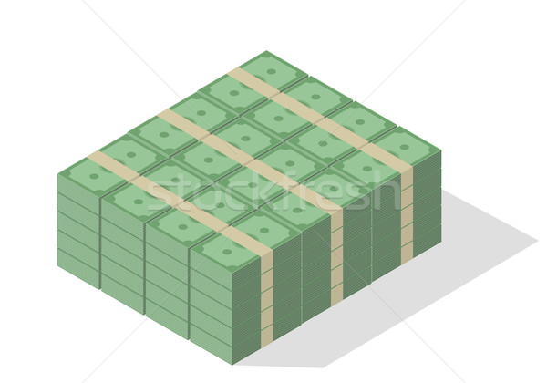 Pile of Banknotes Stock photo © unkreatives