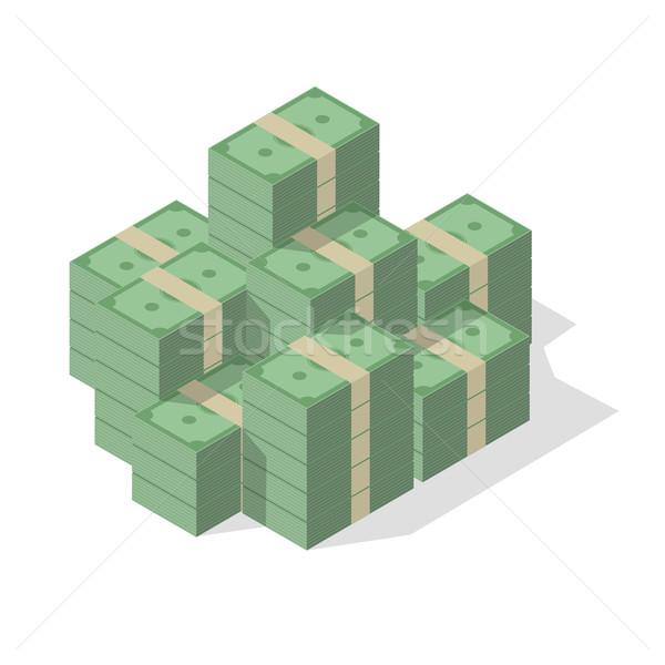 Pile of cash Stock photo © unkreatives