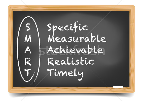 Blackboard SMART Stock photo © unkreatives
