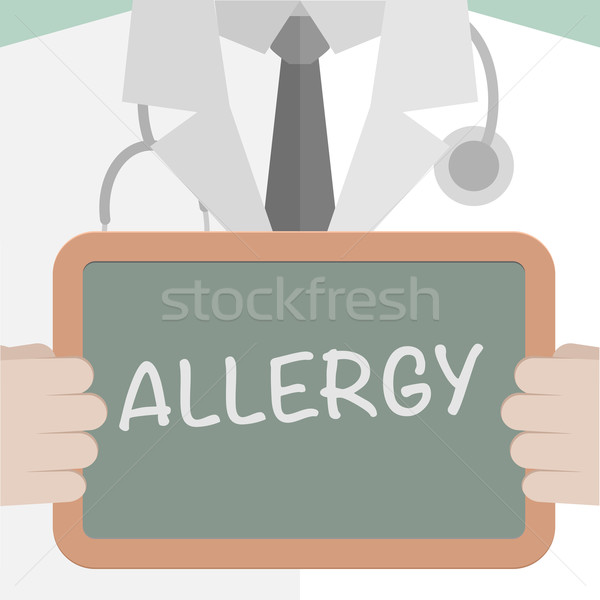 Medical Board Allergy Stock photo © unkreatives