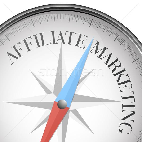 compass affiliate Marketing Stock photo © unkreatives
