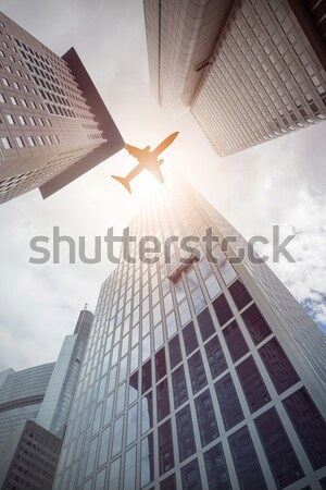 office buildings from below Stock photo © unkreatives