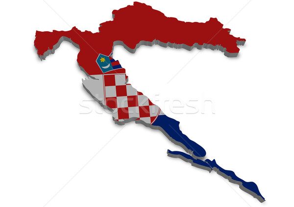 Croatia Stock photo © unkreatives