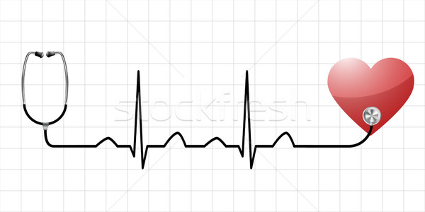 heartbeat Stock photo © unkreatives