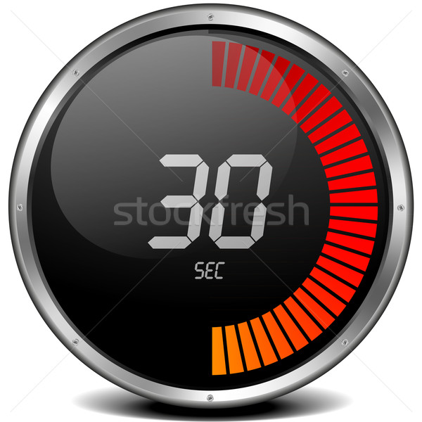 digital stop watch 30s Stock photo © unkreatives