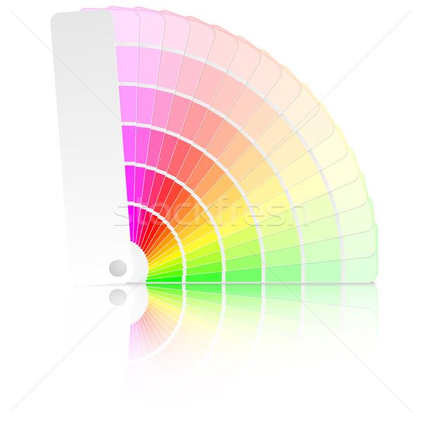 Color Chart Vector Illustration Felix Pergande Unkreatives