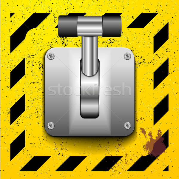 Lever switch Stock photo © unkreatives