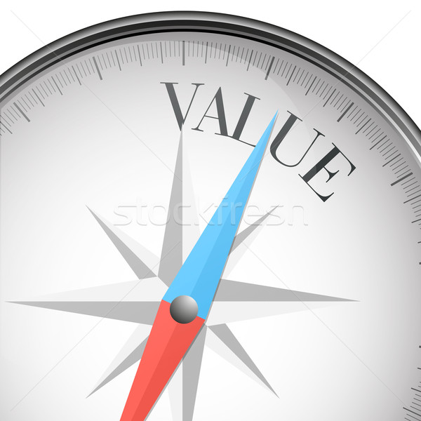 compass value Stock photo © unkreatives