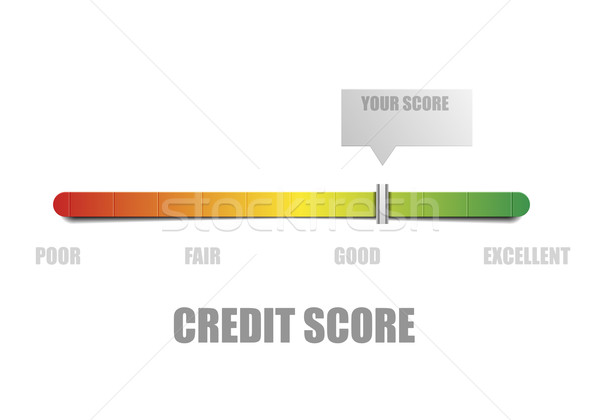 Credit Score Meter Stock photo © unkreatives
