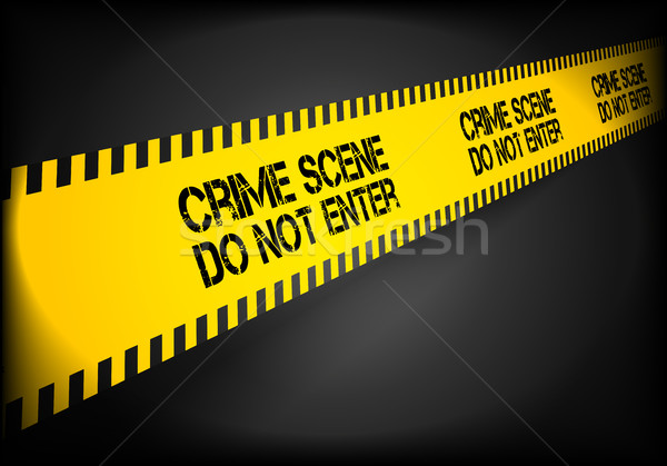 Crime Scene Line Stock photo © unkreatives
