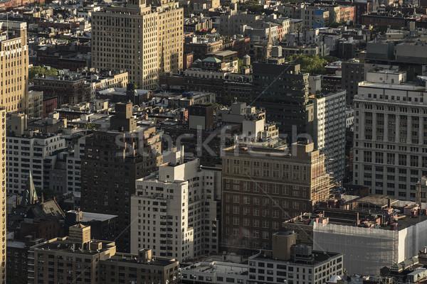 Stockfoto: Nieuwe · antenne · shot · algemeen · kantoor · woon-