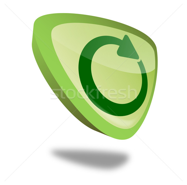 Button Reload Stock photo © unkreatives