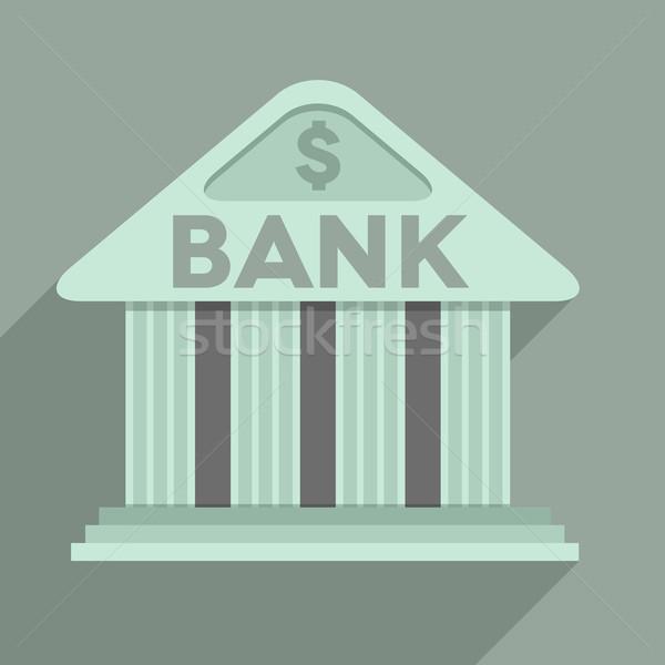 FLAT_Bank_02 Stock photo © unkreatives