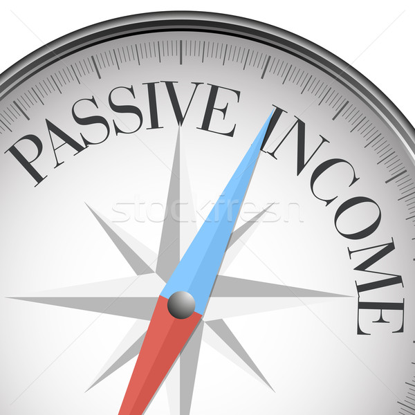 compass passive income Stock photo © unkreatives