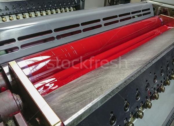 red inking unit Stock photo © unkreatives